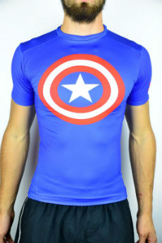 Under Armour Alter Ego Compression tshirt Captain America