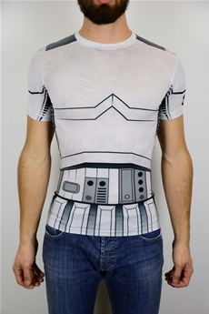 STAR WARS TROOPER FULL SUIT T-SHIRT COMPRESSION