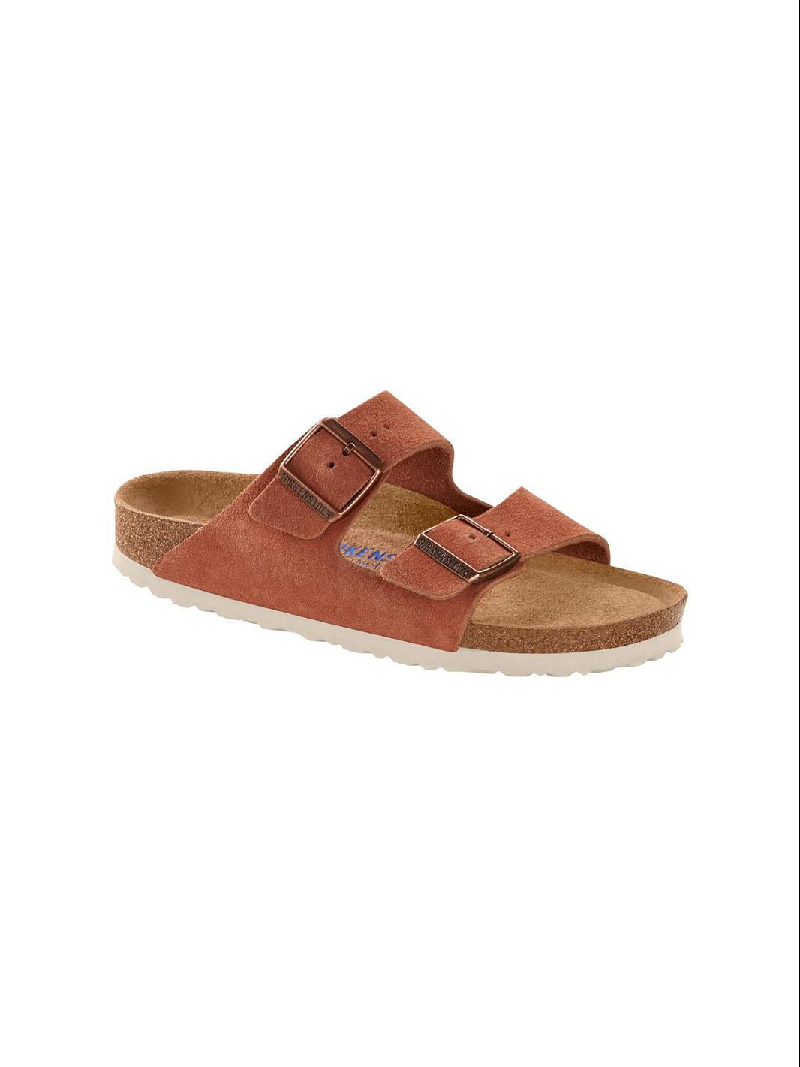 ARIZONA SFB SUEDE LEATHER EARTH RED