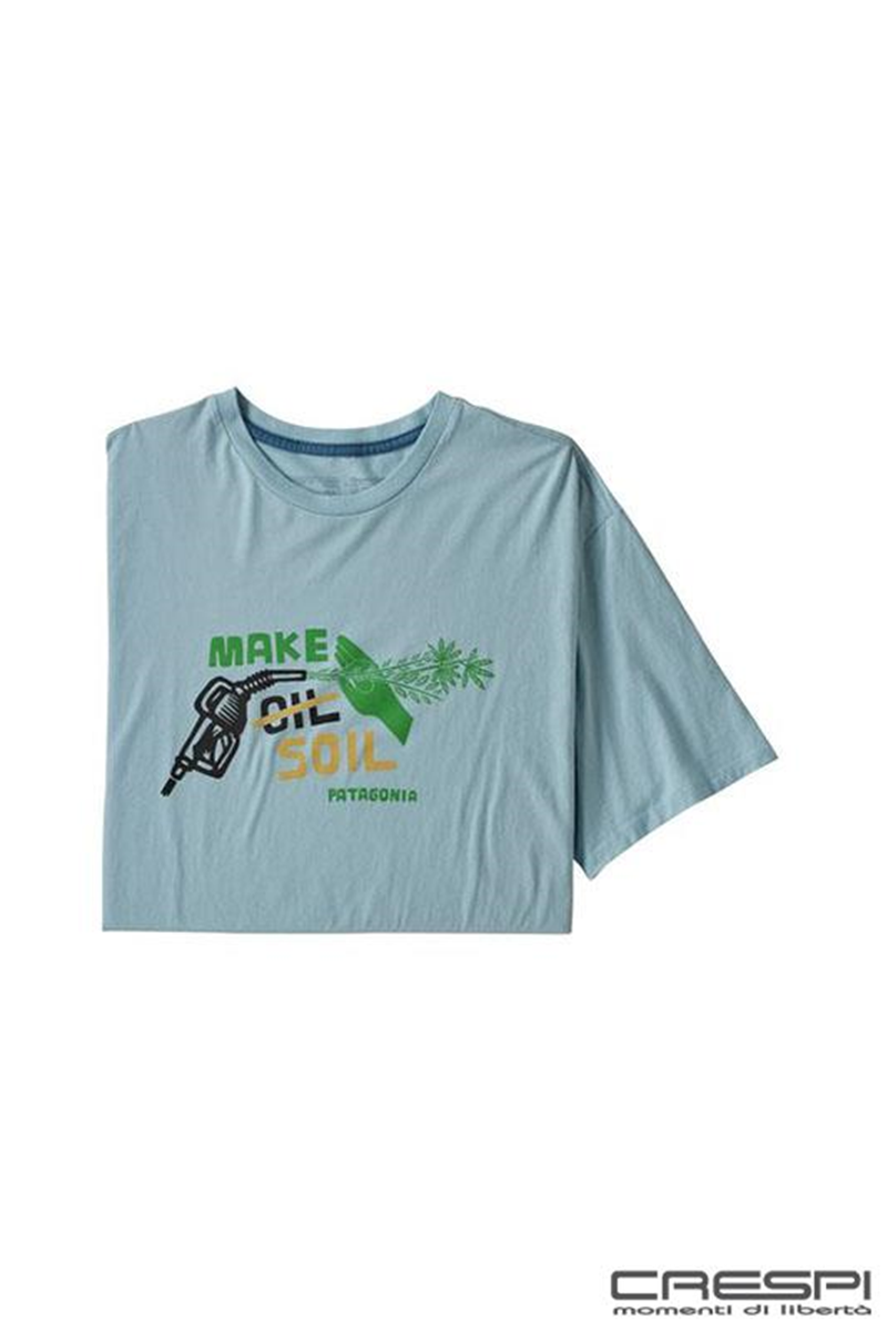 T-SHIRT MAKE SOIL COTONE ORGANICO