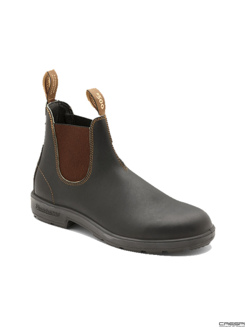 BOOT PELLE STOUT BROWN ELASTICO BROWN