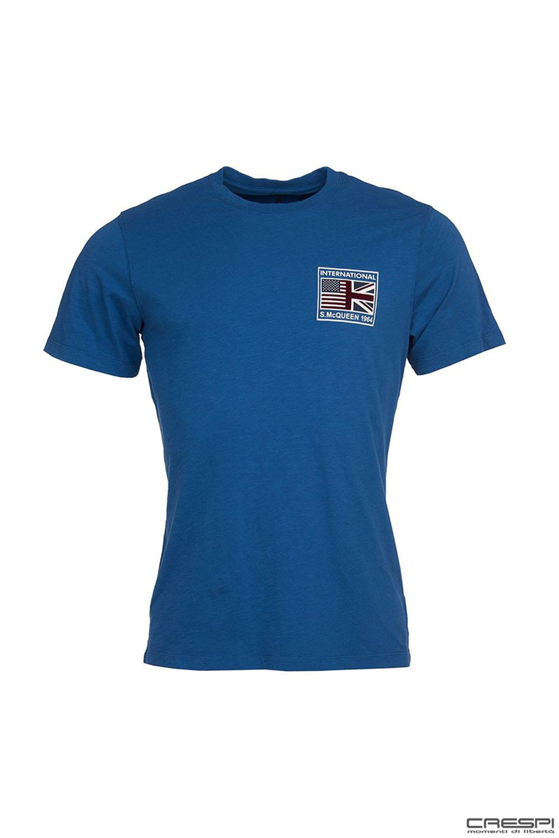 T-SHIRT MANICA CORTA TEAM FLAGS