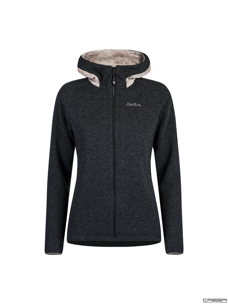 WOOL POLAR HOODY JACKET WOMAN