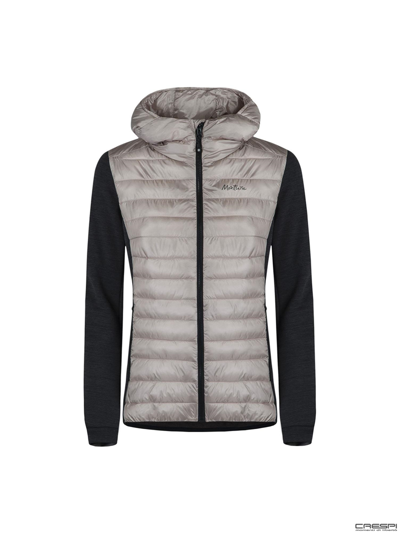 WOOL ESSENTIAL HOODY JACKET WOMAN