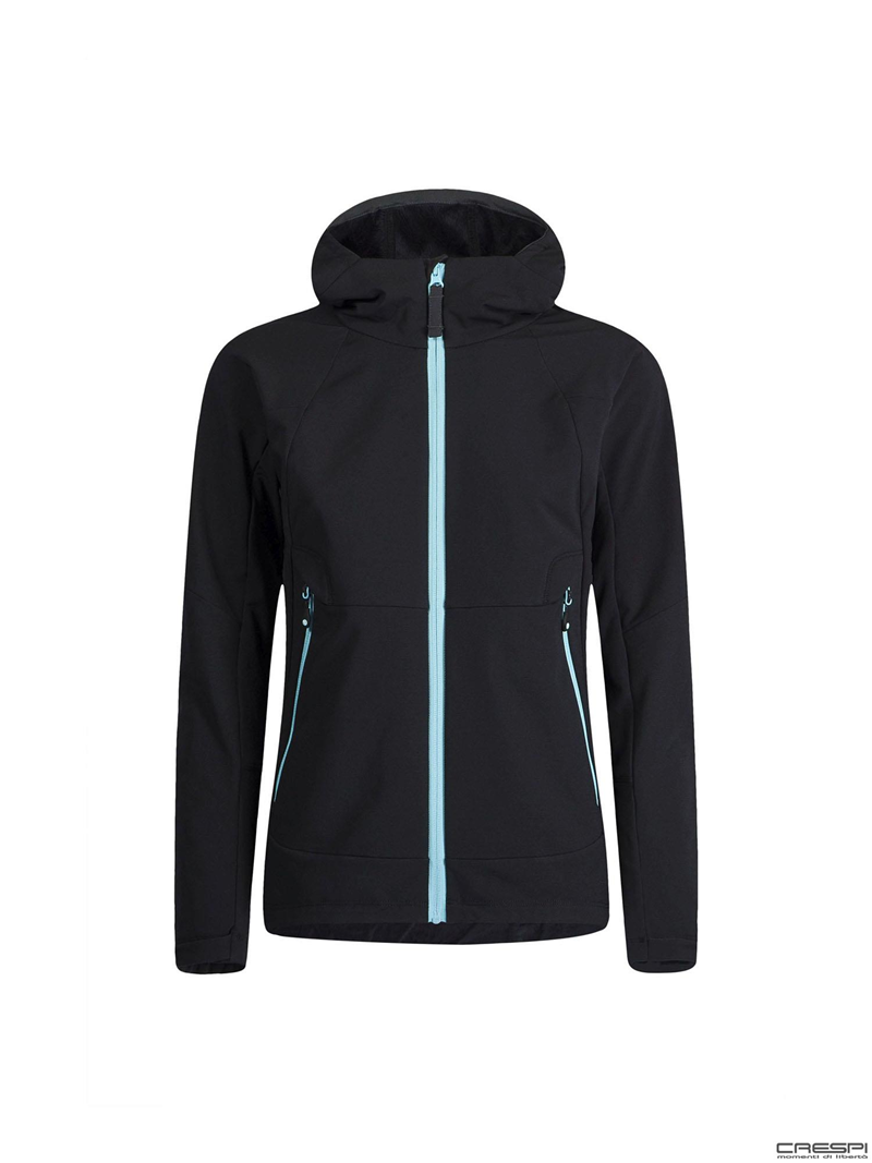 GIACCA WIND FLEECE HOODY WOMAN