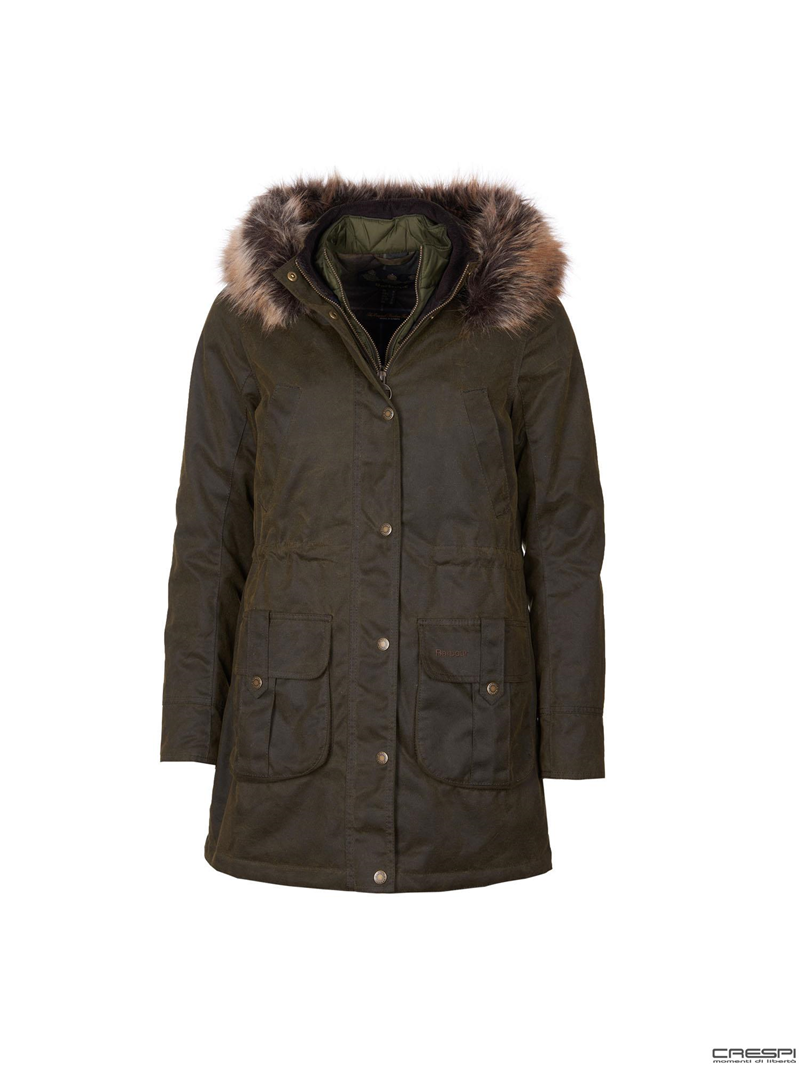 HOMESWOOD WAX JACKET PARKA LADY