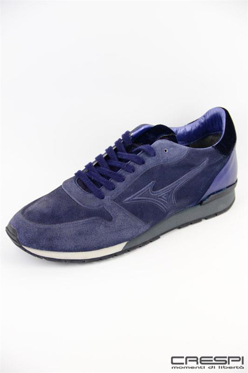 SCARPA FASHION RUNNING SUEDE BLU