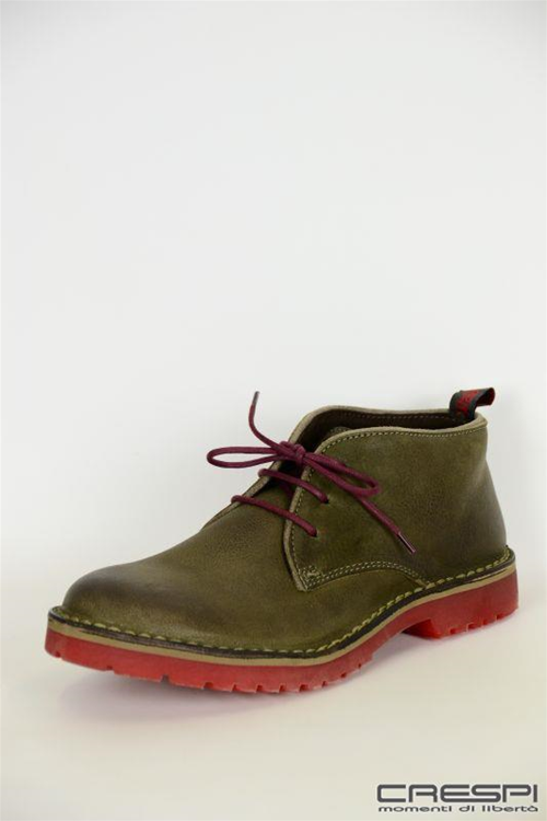 FOOT MID LAETHER VINTAGE SUOLA COLOR