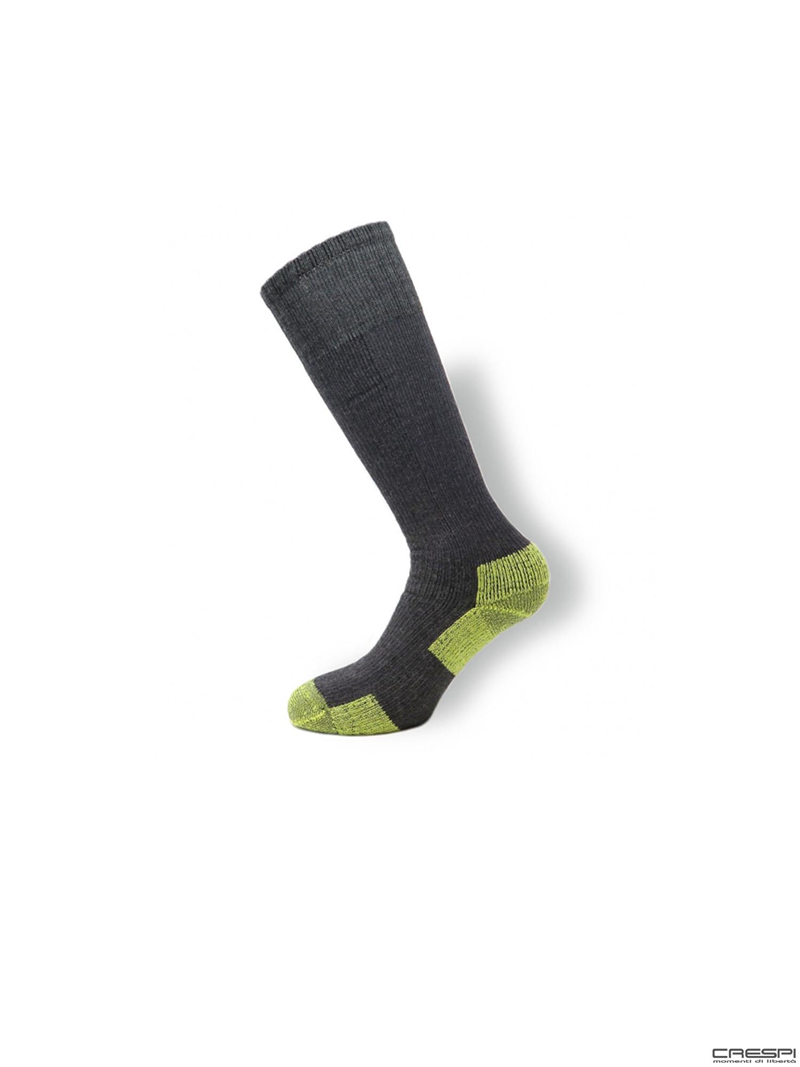 CALZA SKIMO LIGHT TECH ANTRACITE VERDE