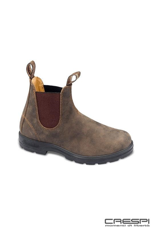 BOOT RUSTIC BROWN ELASTICO MARRONE