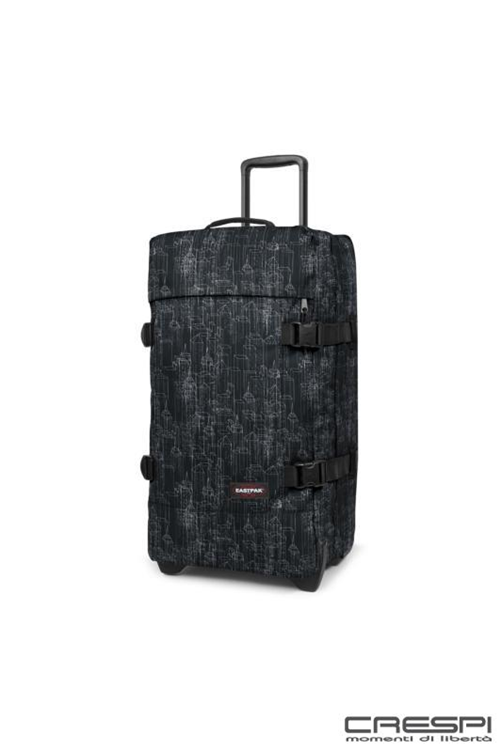 TROLLEY CORDURA DUE RUOTE MEDIUM  FANTASIA CITY