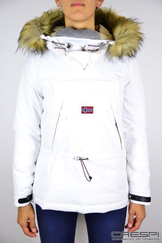 reputable site 8441e 42583 giacca donna skidoo con pelo